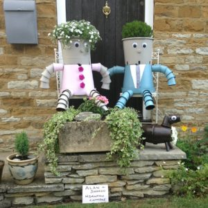 Potty Scarecrows Competition