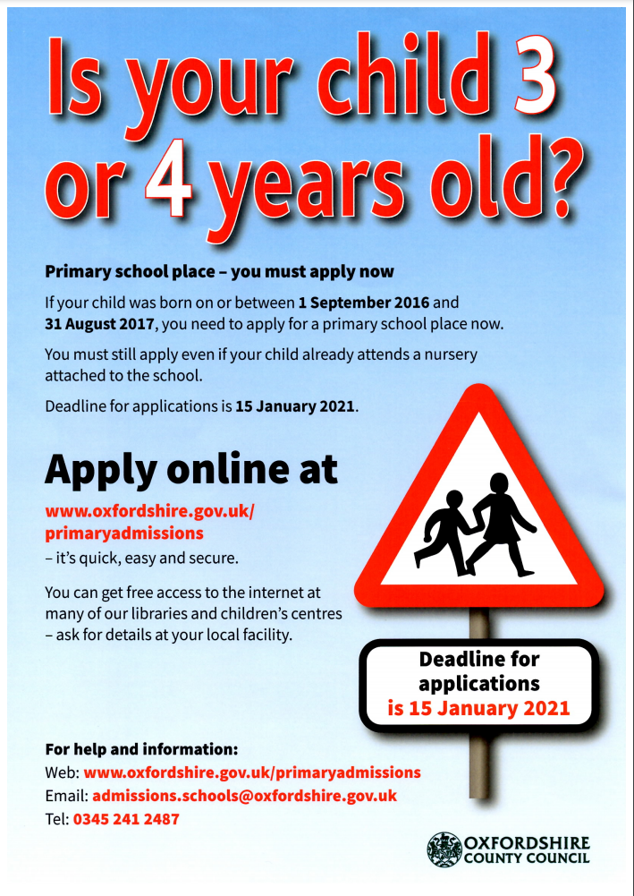 Primary school applications